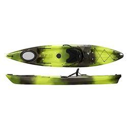 Perception Kayak Pescador Moss Camo Kayak, Green/Black, Size