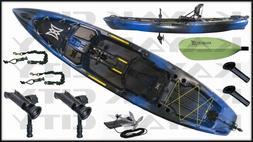 Perception Pescador Pilot 12.0 Pedal Fishing Kayak w/FREE $3