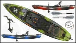 Perception Pescador Pilot - Pedal Fishing Kayak | Includes F