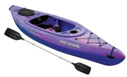 Purple Sit-In Kayak Pink with Paddle Water Sport Girls Delux