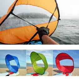 Portable PVC Downwind Wind Paddle Instant Popup Board Kayak