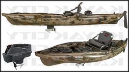 Old Town Predator MK Motorized Kayak - Brown Camo