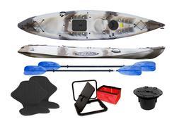Malibu Kayaks Pro 2 Tandem Recreational Sit on Top Kayak Mad