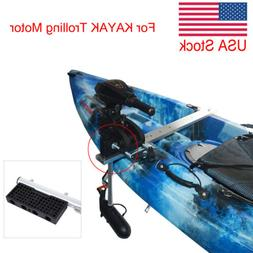 Reinforced Nylon Kayak Trolling Electric Motor Mounting Moto