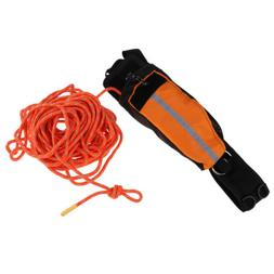 Rescue Throw Bag with 66Ft Floating Rope for Boating Kayakin