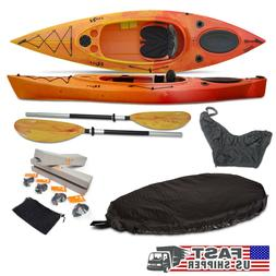 Riot Quest 10 HV KAYAK + Paddle + Leash + Seat Cover + Skirt