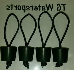 rubber scupper plugs fits sun dolphin kayaks