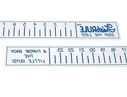 Fish Ruler - 24 inch Boat Ruler - Fishing Measuring Tape by
