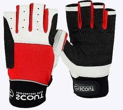 Sailing Gloves 3/4 Finger Dinghy Yachting Kayak Water Sports