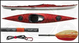 Eddyline Samba Lightweight Touring Kayak w/Free Fiberglass P