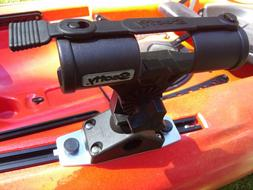 Scotty Fly Rod Holder for Wilderness Slidetrax & Cayman Kaya