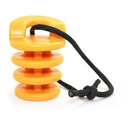 Ocean Kayak Scupper Stoppers-Yellow-S