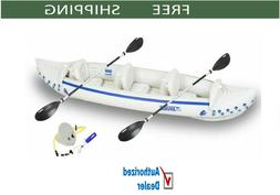 Sea Eagle SE370K_ST3    3 Person Start Up Package Inflatable