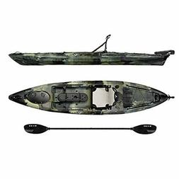 Vibe Sea Ghost 130 13' Fishing Kayak + Paddle - Hunter Camo