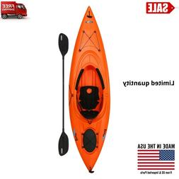 Sea Kayak 1 Person Sit on Top New Paddle Included Fishing Ho