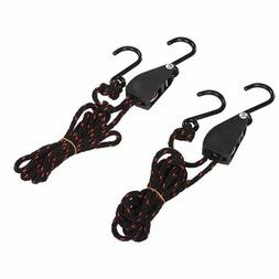 Set of 2 Ratchet Kayak Canoe Bow and Stern Tie Down Strap Ad