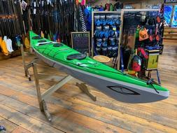 Current Designs Sisu Touring Kayak Made w/ Kevlar Lime/Smoke
