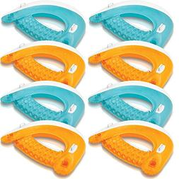 Intex Sit 'N Float Inflatable Colorful Floating Loungers, 8