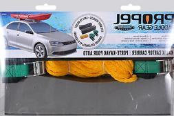 PROPEL BY SHORELINE SLPG58973 KAYAK CAR TOP CARRIER MESH BG