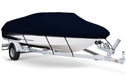 7oz Solution Dyed Polyester Black, Styled to FIT Boat Cover