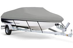 7oz Solution Dyed Polyester Grey, Styled to FIT Boat Cover f