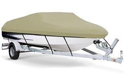 7oz Solution Dyed Polyester Khaki, Styled to FIT Boat Cover