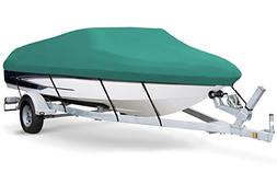 7oz Solution Dyed Polyester Teal, Styled to FIT Boat Cover f