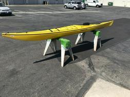 Current Designs Squamish Yellow 16 ft polyethylene sea touri