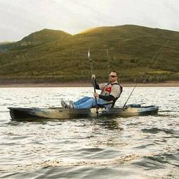 Lifetime Stealth PRO Angler Fishing Kayak in Camo, Weight ca