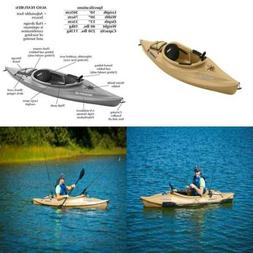 Sun Dolphin Excursion Sitin Fishing Kayak Sand 10ft, New