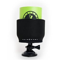 Amphibian Outdoor SUP and Kayak Drink Holder with Koozie