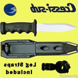 Cressi Super totem Knife Point Scuba Snorkel Freedive Dive K