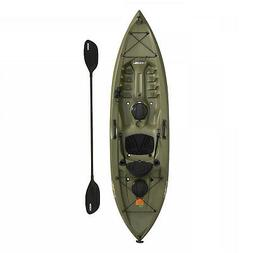 Fishing Kayak 10 Ft Lifetime Padded Seat Tamarack Angler 100