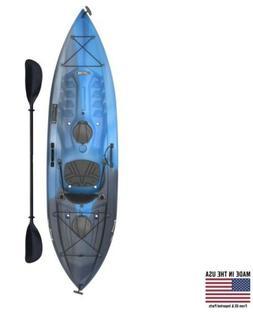 Lifetime Tamarack Angler 100 Single Man Fishing Kayak With P