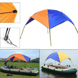 Tent Sun Shade Canopy Awning Foldable Inflatable Kayak Boat
