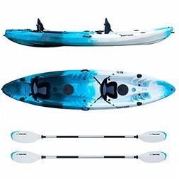 Driftsun Teton 120 Hard Shell Recreational Tandem Kayak, 2 o