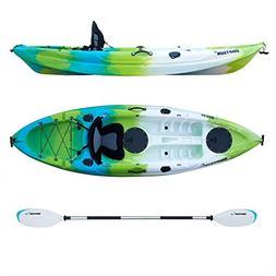 Driftsun Teton 90 Hard Shell Recreational Kayak, Single Pers
