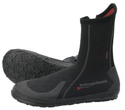 Stohlquist Tideline 5mm Neoprene Boot - Men's Black, 10.0