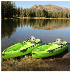 tioga 120 kayak 2 pack lime green