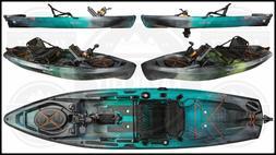 Old Town Topwater 120 PDL - Pedal Fishing Kayak w/FREE Fiber