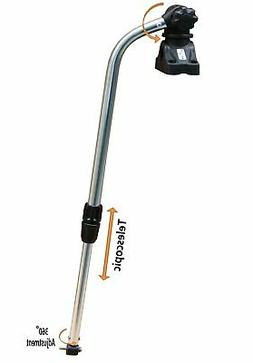BroCraft Transducer Mounting Arm with Deck Mount/Kayak Fish