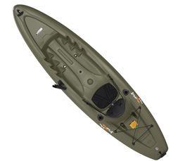Lifetime Triton Angler 100 Fishing Kayak, Olive Green