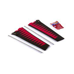 ST-TURBO FIN KIT V2 - RED/BLK