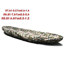 Dulcii Universal Camouflage Kayak Canoe Boat Waterproof UV R