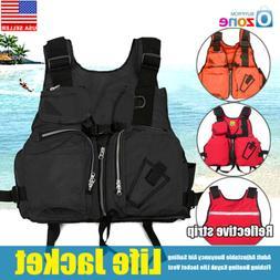 Universal Fishing Life Jacket Kayak Canoeing Sailing Swimmin