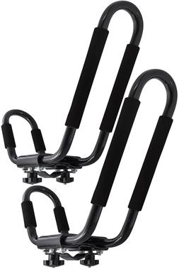 OxGord Kayak Roof Rack Canoe Carrier Top J-Bar Mount Univers