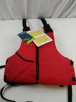 Onyx Universal Paddle Vest Universal Paddle Life Vest, Red,