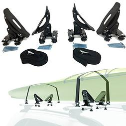 Car Rack & Carriers Universal Saddles Kayak Carrier Canoe Bo
