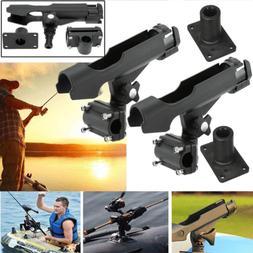 us 2pcs adjustable side rail mount kayak
