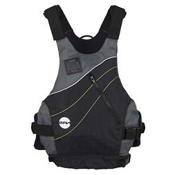 """NRS VAPOR Low-Profile PFD Life Vest - BLACK XXL Fits 42-50"""""""